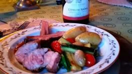 Lammeribbe marinert i hvitløk og rosmarin til påskeaften – lun kos for kjærestepar!
