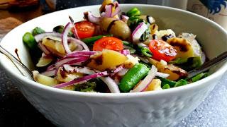 Kald potetsalat til spekematen 17.mai