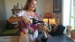 Dekantering av vin