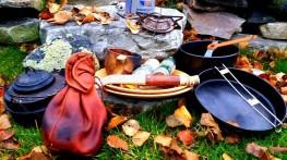 Stormkjøkken og duppeditter og litt finnbiff ute i det fri