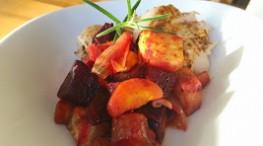 Høst=rotgrønnsaker og torsk i karri !