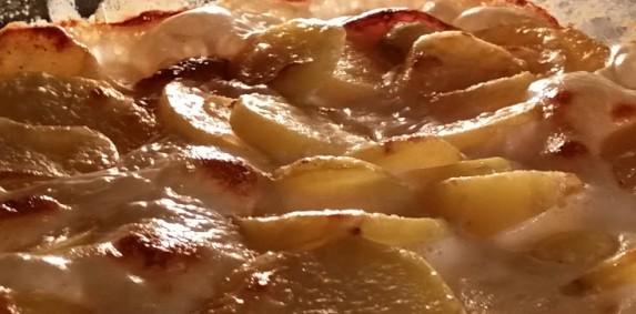 Fløtegratinerte poteter med følge