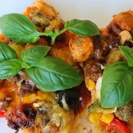 Gluten-og laktosefri pizza